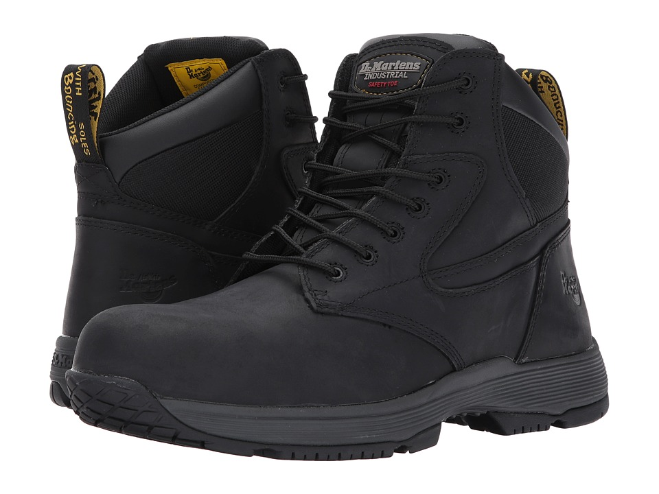 Dr. Martens Work - Corvid SD Non-Metallic Composite Toe 7-Eye Boot (Black Connection) Work Lace-up Boots