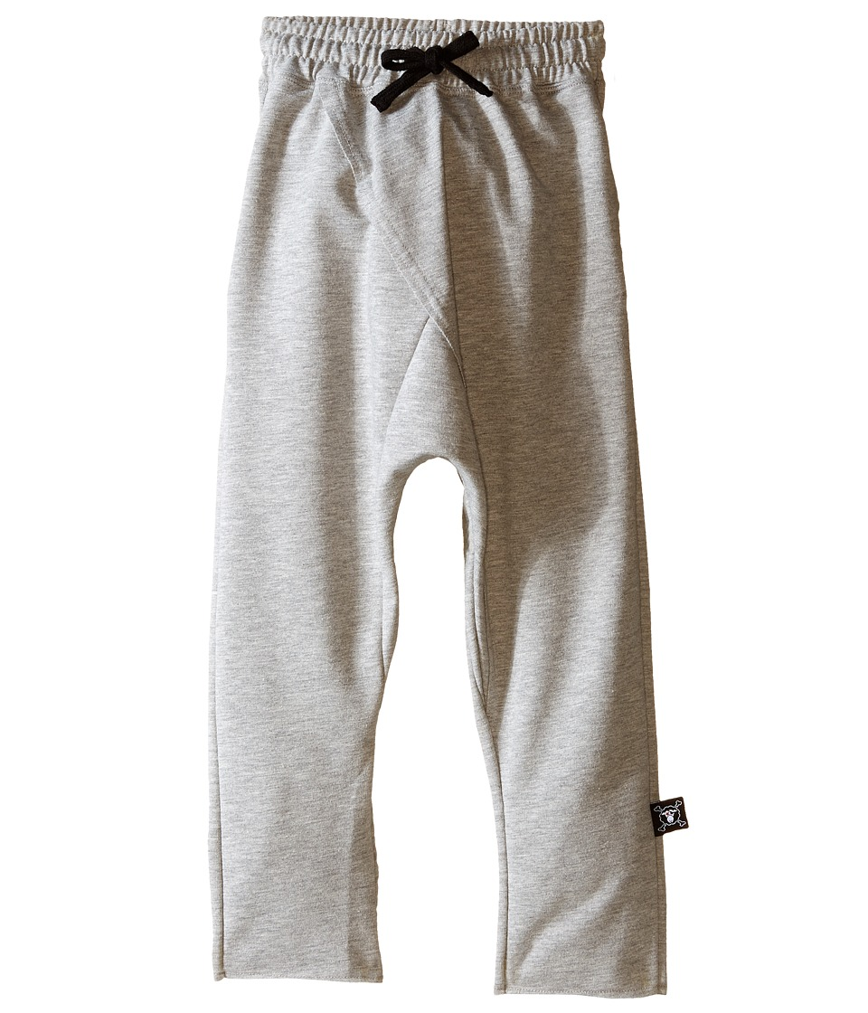 Nununu - Raw Pants (Infant/Toddler/Little Kids) (Heather Grey) Kid's Casual Pants