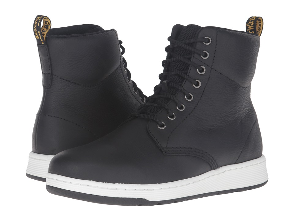 Dr. Martens Rigal 8-Eye Boot (Black Carpathian/Mesh) Lace-up Boots