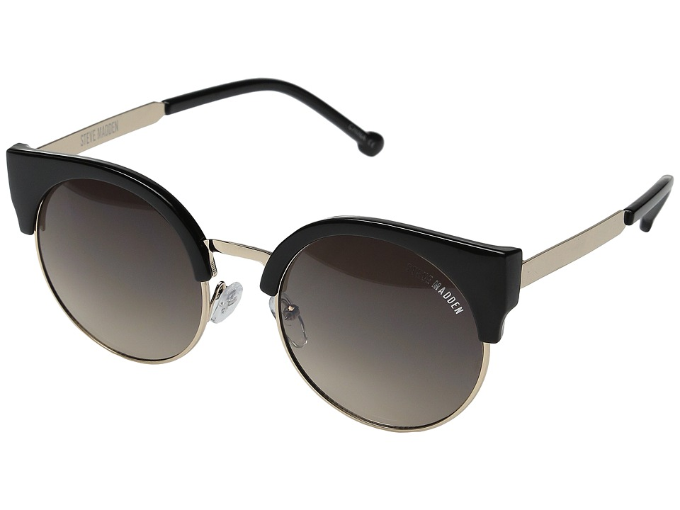 Steve Madden - Kelly (Black) Fashion Sunglasses