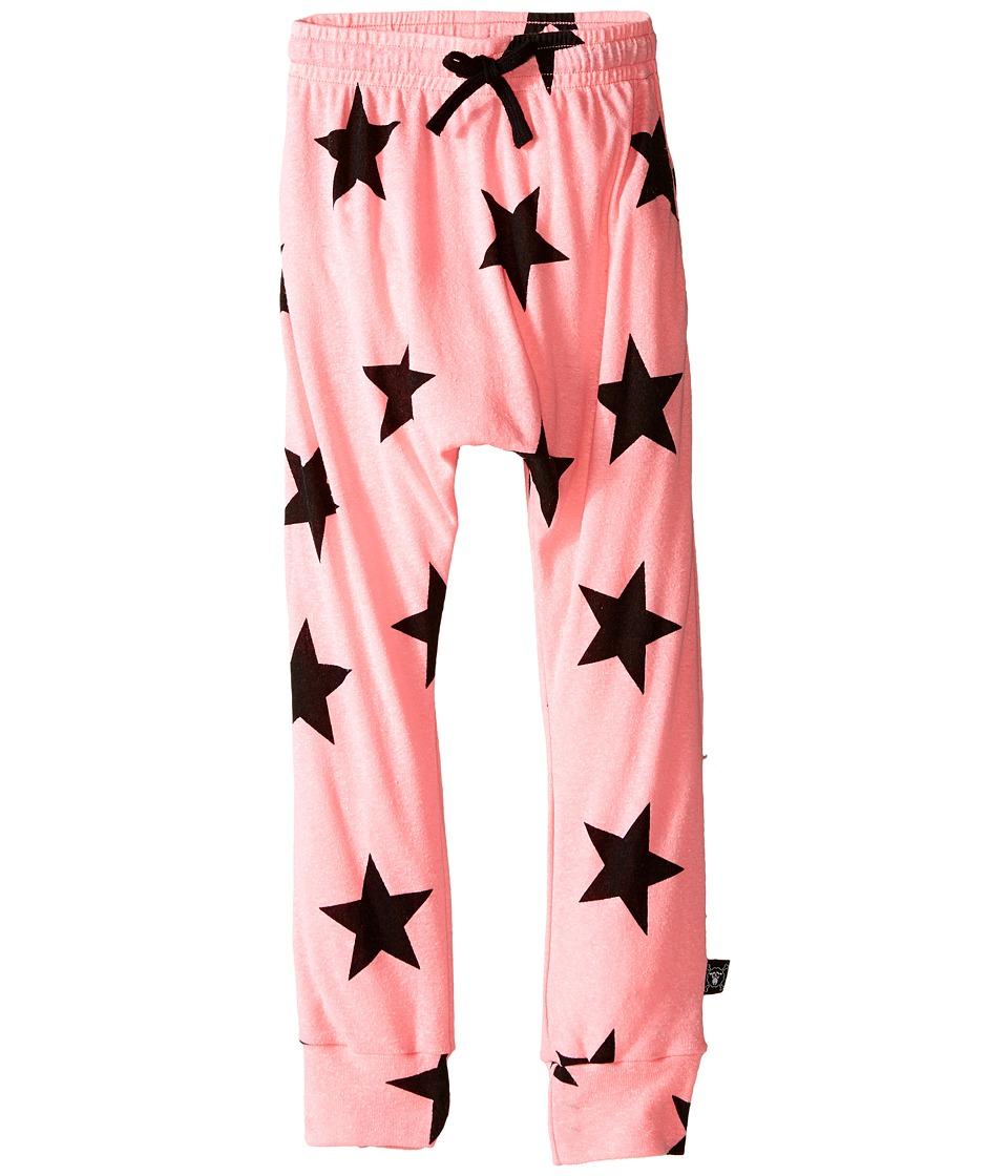 Nununu - Star Baggy Pants (Little Kids/Big Kids) (Pink) Girl's Casual Pants