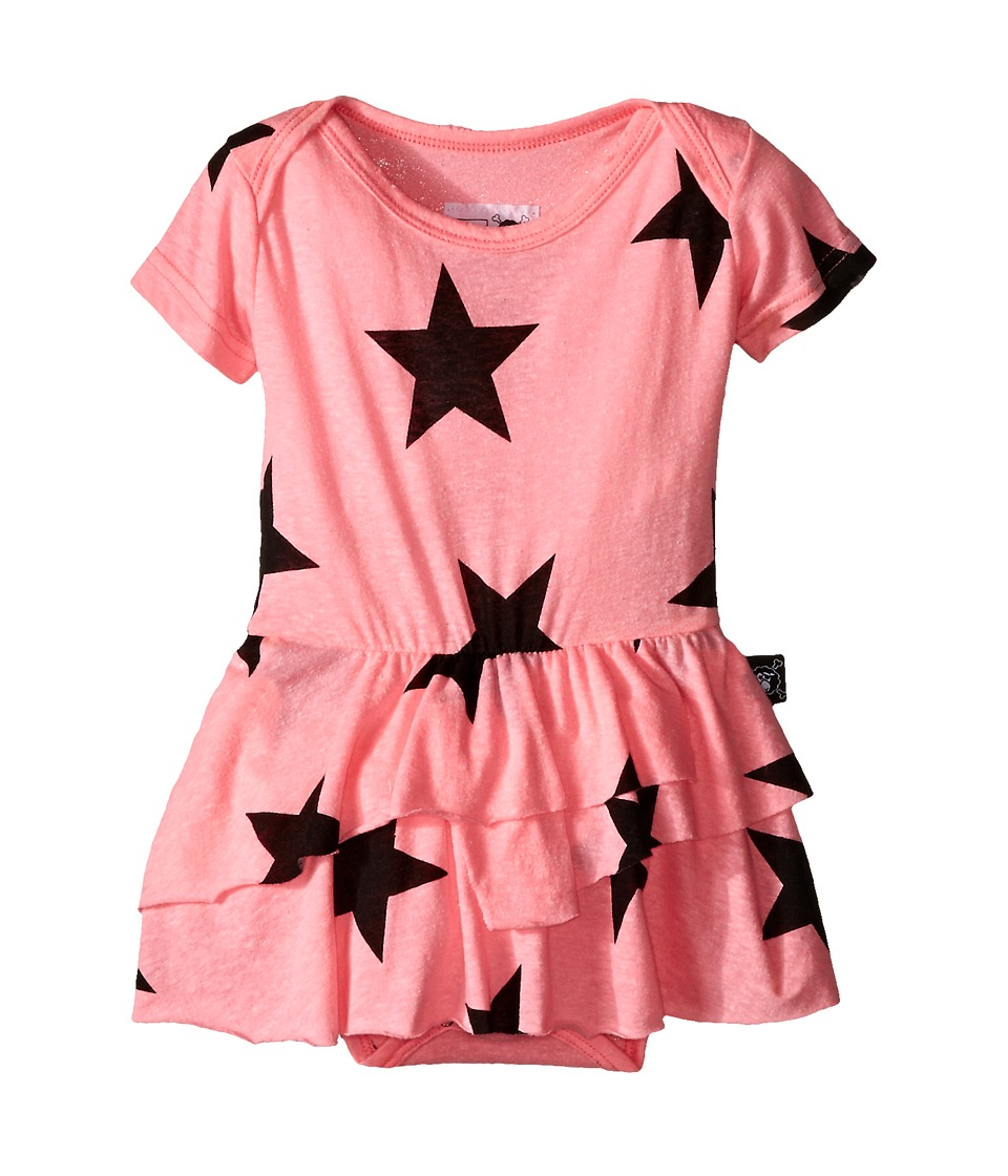 Nununu - Star One-Piece Skirt (Infant) (Pink) Girl's Jumpsuit & Rompers One Piece