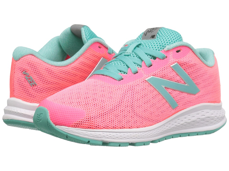 New Balance Kids - Vazee Rush v2 (Little Kid) (Pink/Teal) Girls Shoes