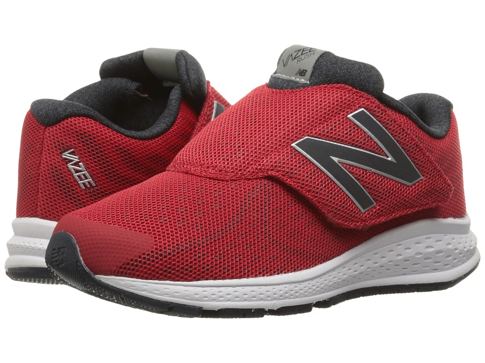 New Balance Kids - Vazee Rush v2 A/C (Little Kid) (Red/Red) Boys Shoes