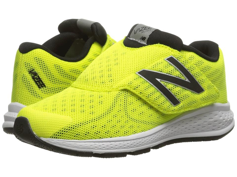 New Balance Kids - Vazee Rush v2 A/C (Little Kid) (Yellow/Black) Boys Shoes