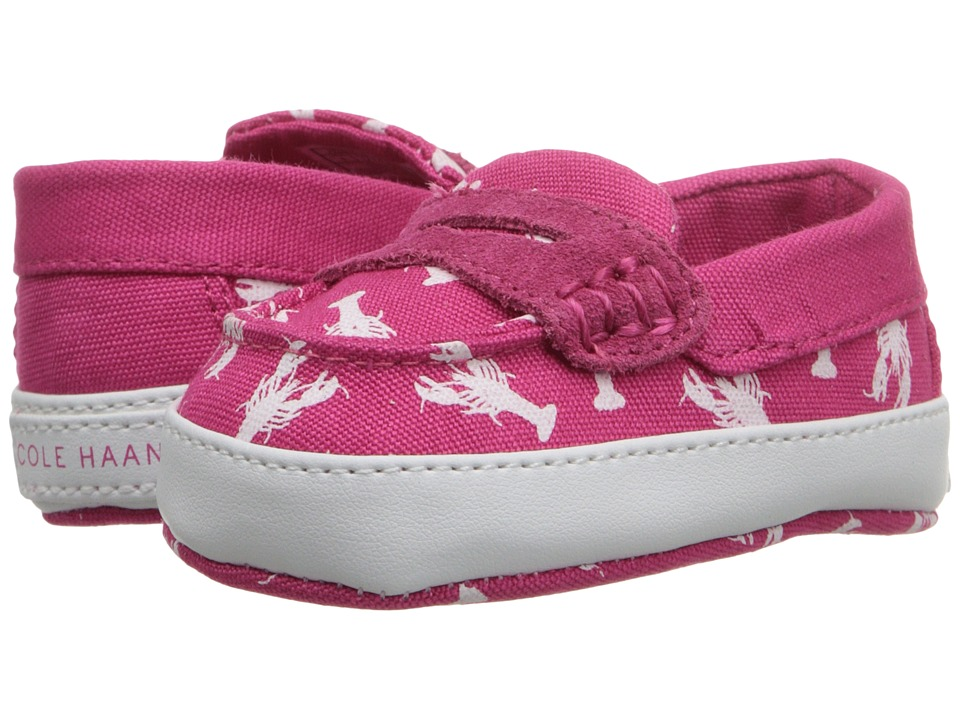 Cole Haan Kids - Pinch Weekender (Infant/Toddler) (Electra/White) Kid's Shoes