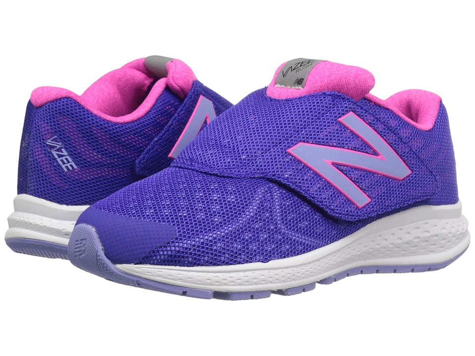 New Balance Kids - Vazee Rush v2 A/C (Little Kid) (Purple/Pink) Girls Shoes