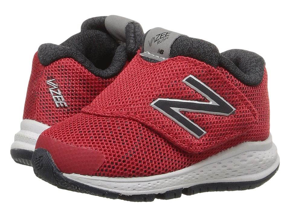 New Balance Kids Vazee Rush v2 (Infant/Toddler) (Red/Red) Boys Shoes