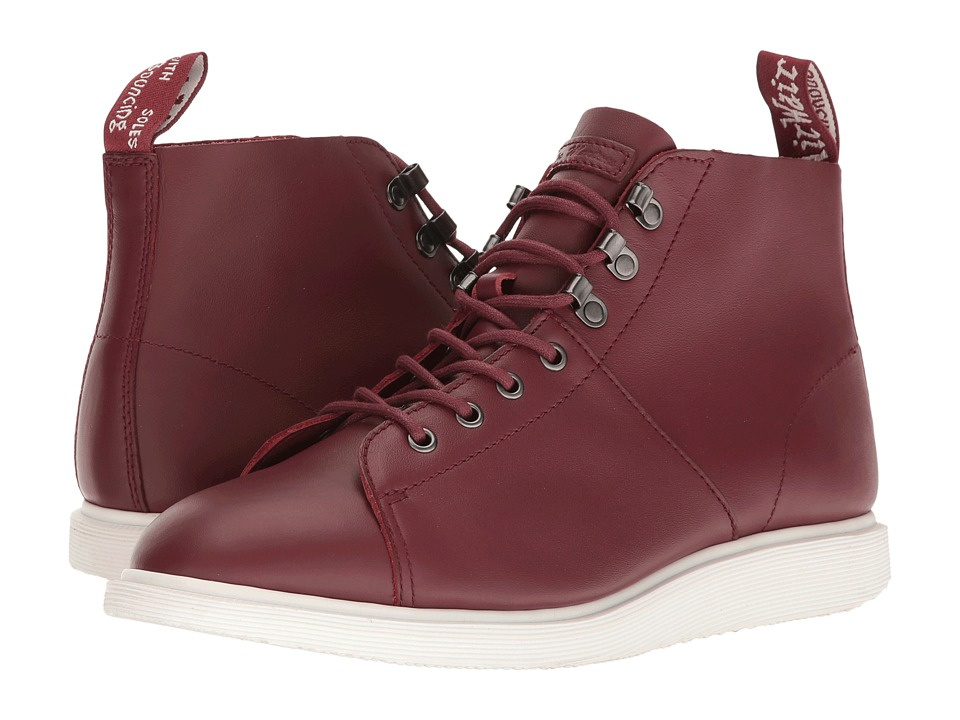 Dr. Martens - Torrington Monkey Boot (Cherry Red Softy T) Lace-up Boots