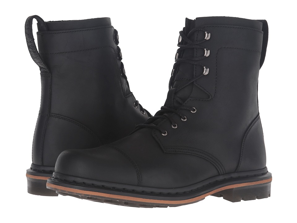 Dr. Martens - Sabien 7-Tie Boot (Black Kingdom) Lace-up Boots