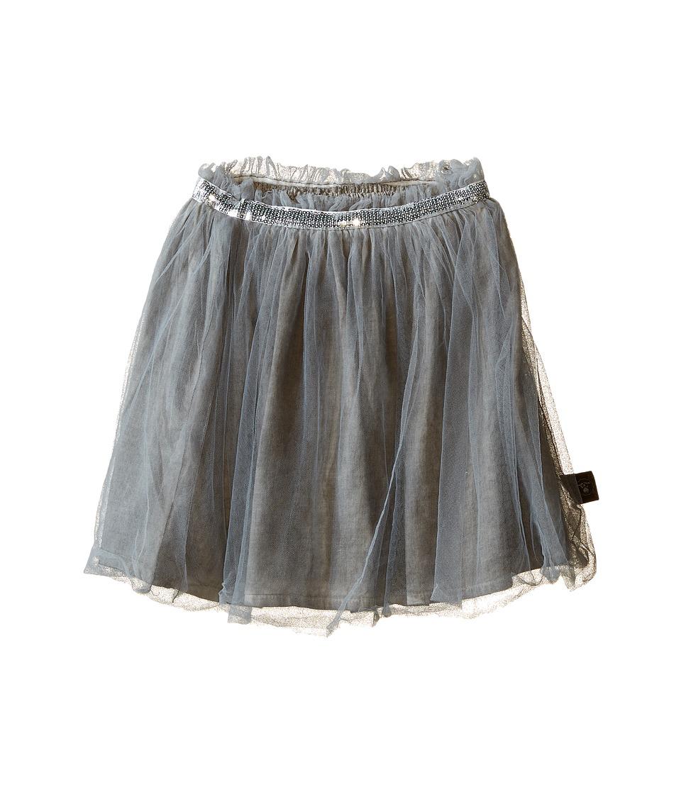 Nununu - Tulle Skirt (Infant/Toddler/Little Kids) (Dyed Grey) Girl's Skirt