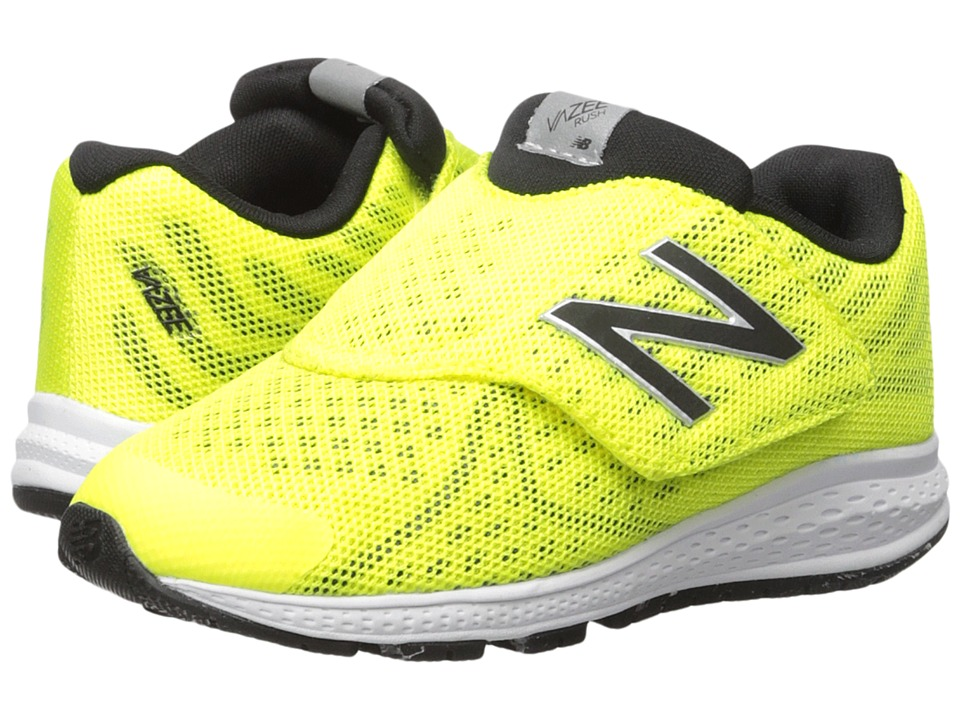 New Balance Kids - Vazee Rush v2 (Infant/Toddler) (Yellow/Black) Boys Shoes