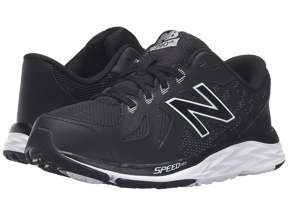 New Balance Kids 790v5 (Little Kid/Big Kid) (Black/White) Boys Shoes