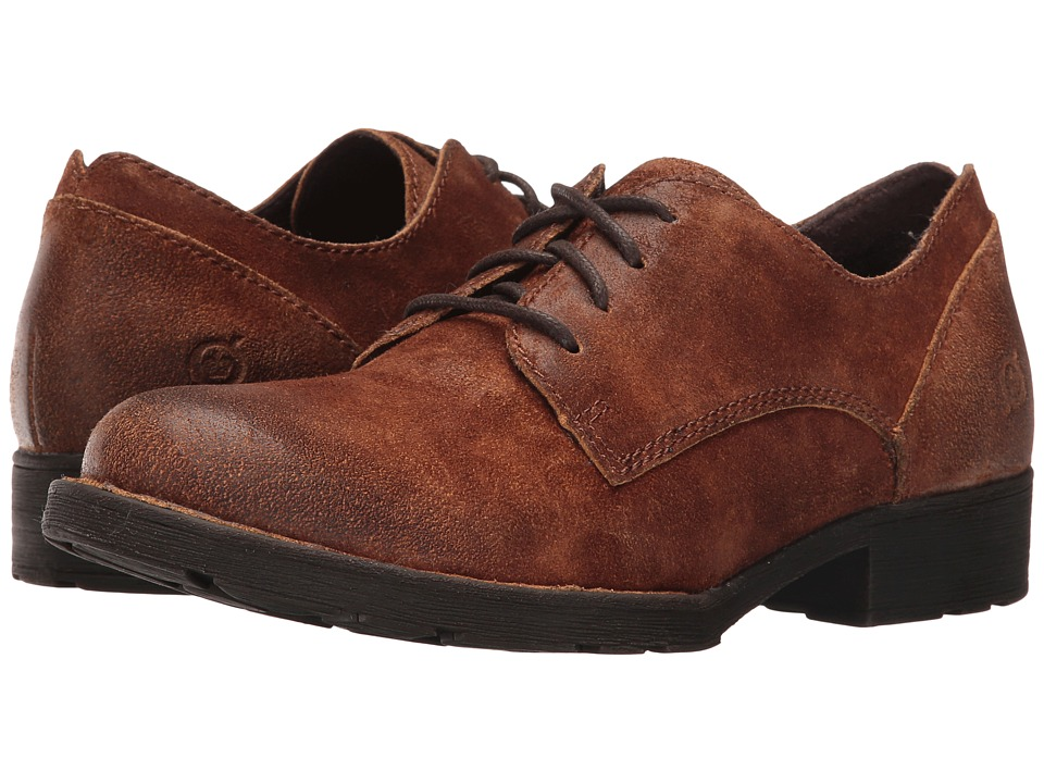 Born - Binn (Tobacco Distressed) Women's Shoes