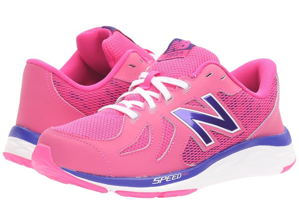 New Balance Kids 690V5 (Little Kid/Big Kid) (Pink/Purple) Girls Shoes