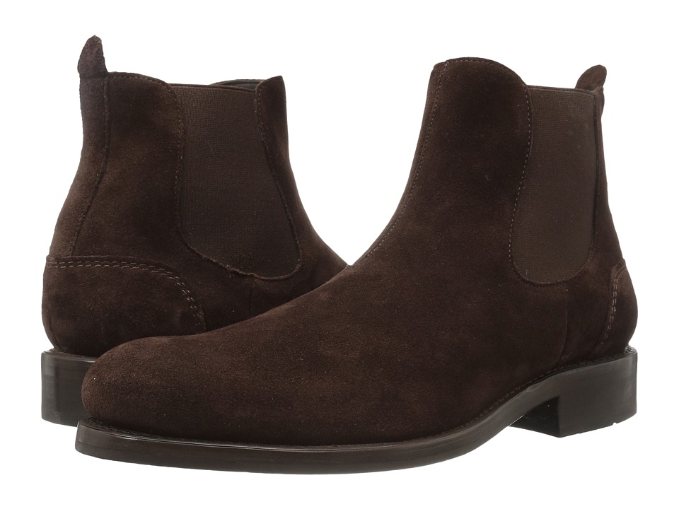 Wolverine - 1000 Mile Montague Chelsea Boot (Brown Suede) Men's Pull-on Boots