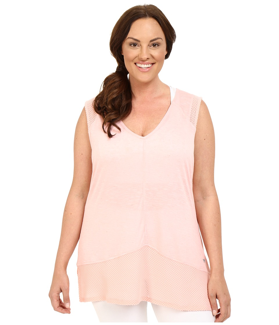 Marika Curves - Plus Size Bella Singlet (Coral Ice) Women's Sleeveless