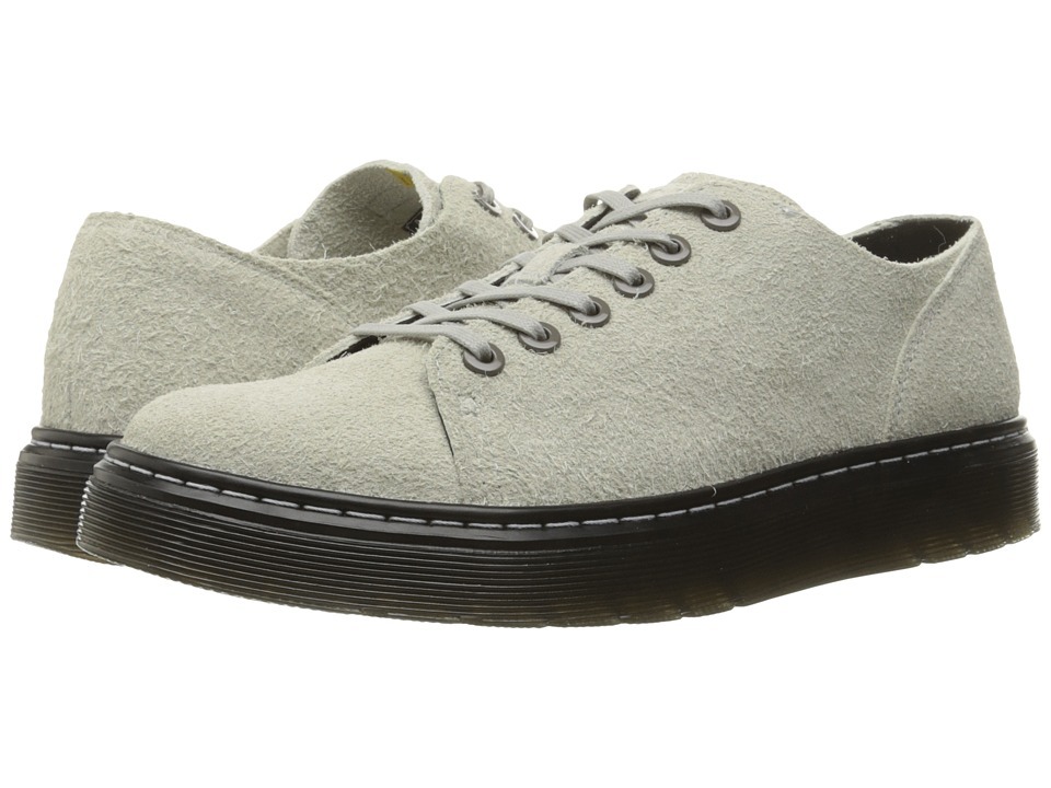 Dr. Martens Dante 6-Eye Raw Shoe (Grey Wooly Bully) Lace up casual Shoes