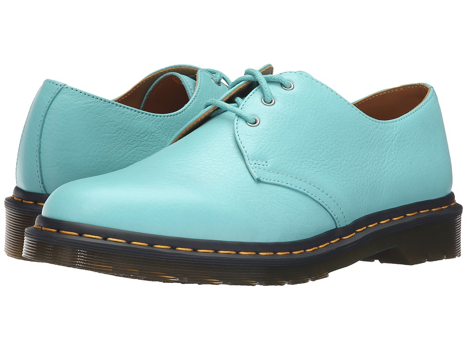 Dr. Martens 1461 3-Eye Shoe (Aqua Hug Me) Lace up casual Shoes