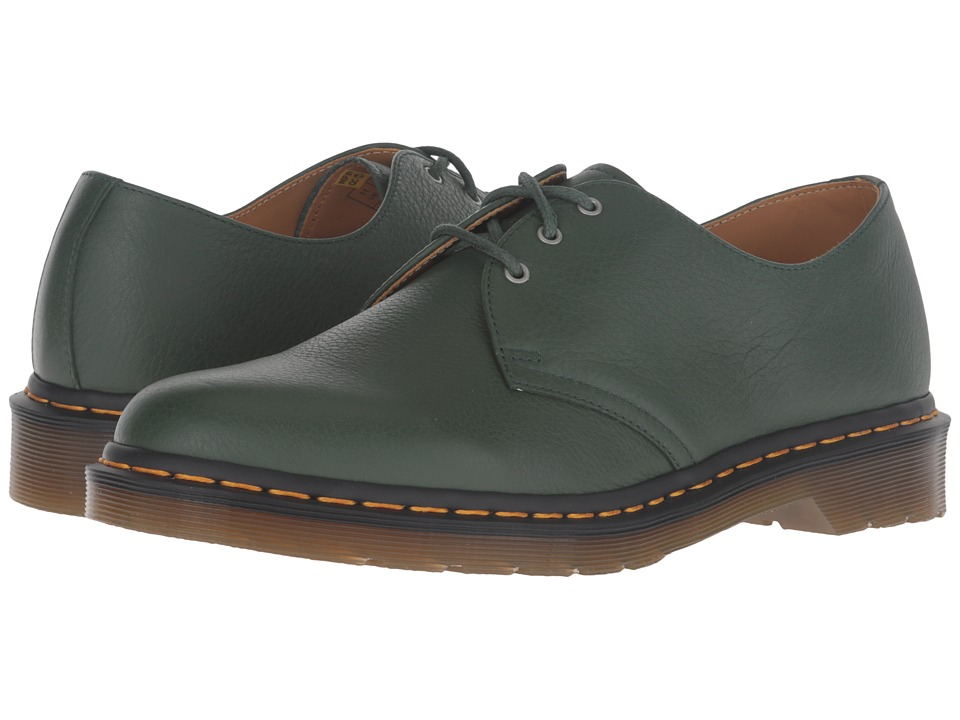 Dr. Martens 1461 3-Eye Shoe (Green Hug Me) Lace up casual Shoes