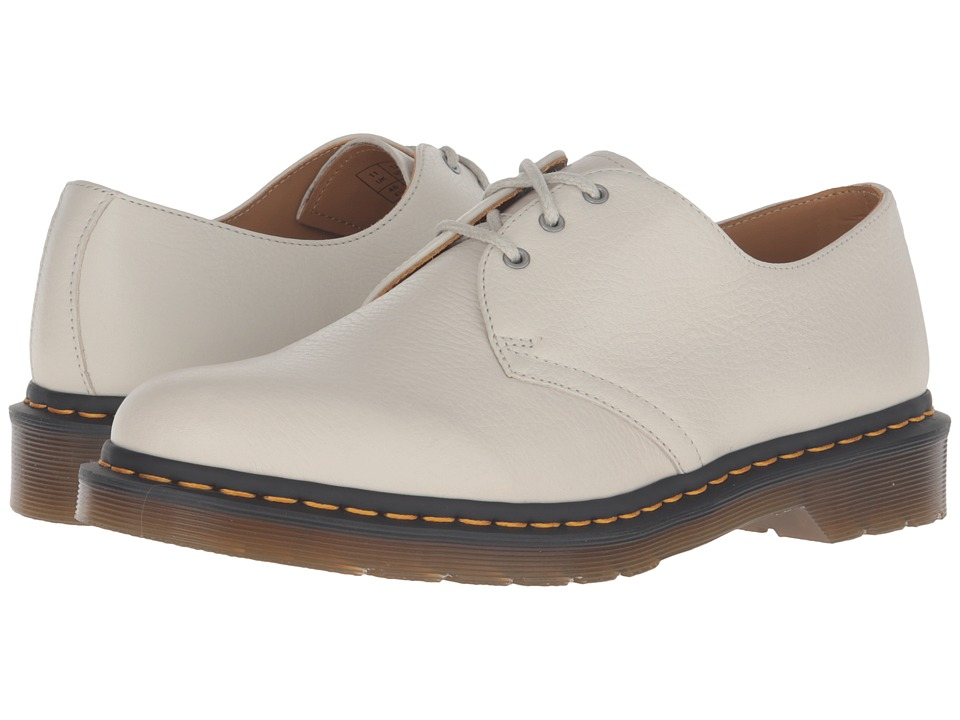 Dr. Martens - 1461 3-Eye Shoe (Off-White Hug Me) Lace up casual Shoes