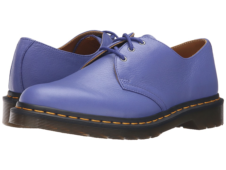 Dr. Martens 1461 3-Eye Shoe (Blueberry Hug Me) Lace up casual Shoes