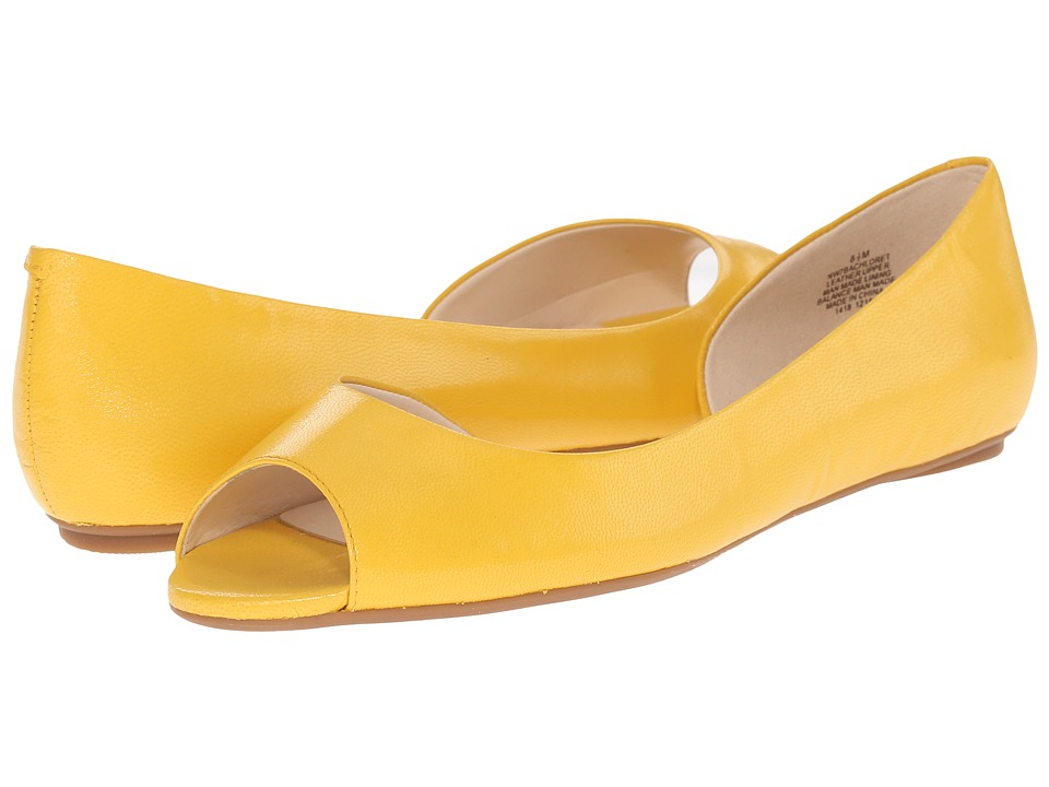 Nine West Bachloret (Yellow Leather) Women