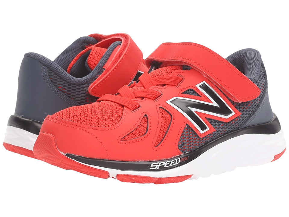 New Balance Kids - 690V5 (Little Kid) (Red/Grey) Boys Shoes