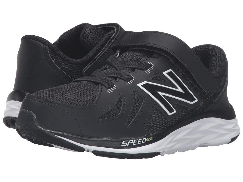 New Balance Kids - 690V5 (Little Kid) (Black/White) Boys Shoes