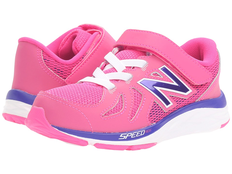 New Balance Kids - 790V5 (Little Kid) (Pink/Purple) Girls Shoes