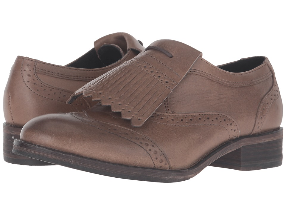Wolverine Elsie Oxford (Taupe Leather) Women