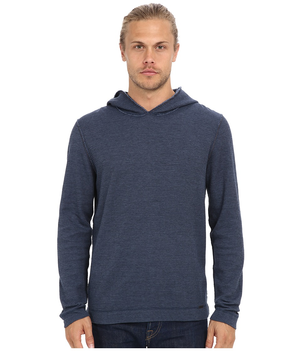 BOSS Orange - Wysp One Long Sleeve Knit (Navy) Men's Sweatshirt