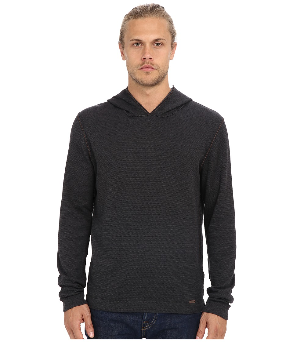 BOSS Orange - Wysp One Long Sleeve Knit (Black) Men's Sweatshirt