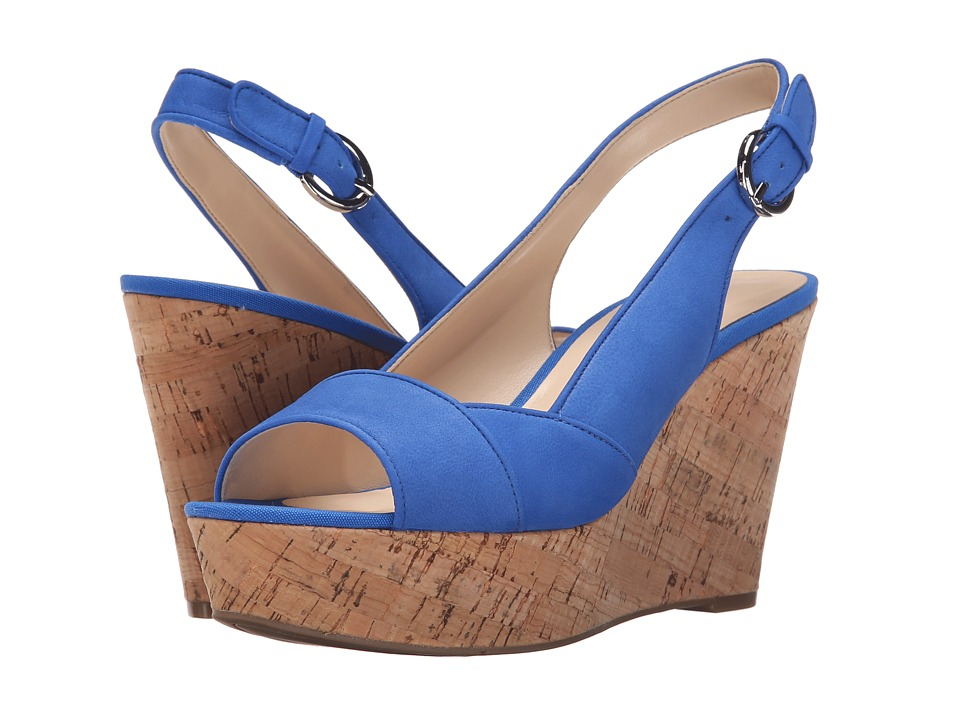Nine West - Caballo (Blue Nubuck) Women's Shoes