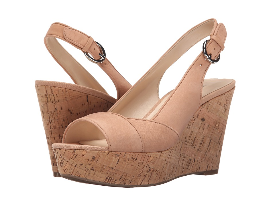 Nine West - Caballo (Natural Nubuck) Women's Shoes