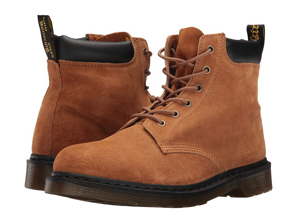 Dr. Martens 939 (Tan Soft Buck) Boots