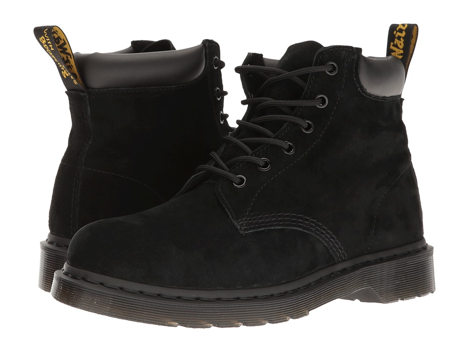 Dr. Martens - 939 (Black Soft Buck) Boots