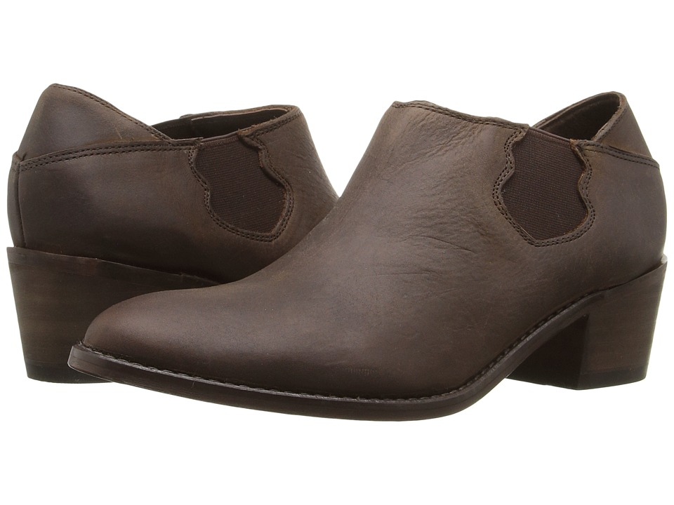 Wolverine - Alice (Brown Waxy Leather) Women's Slip on  Shoes