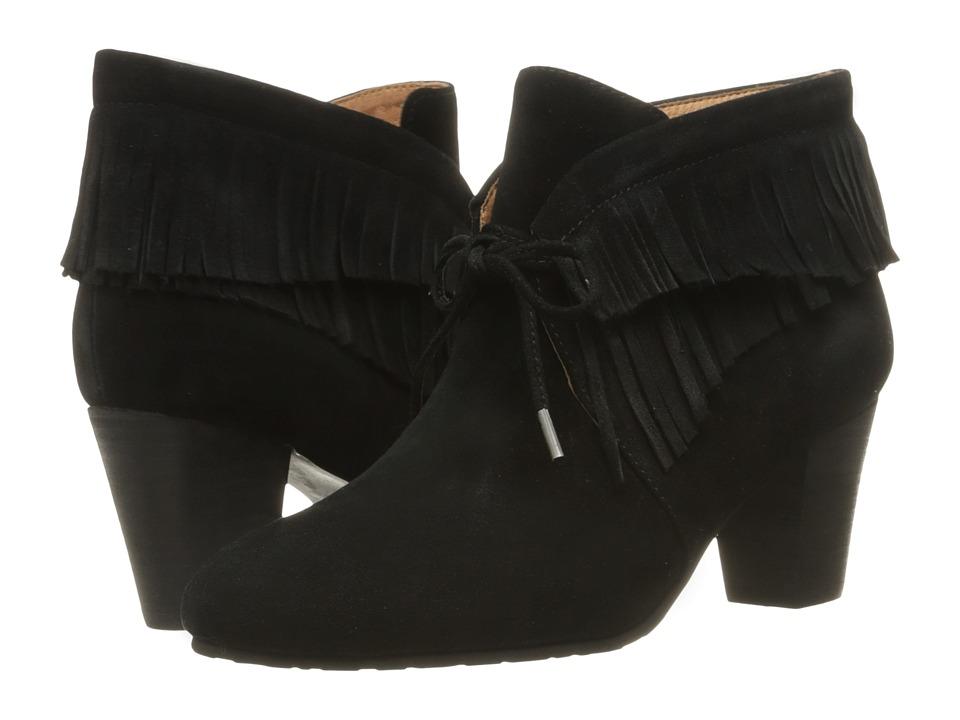 Gentle Souls - Bettie (Black Suede) Women's Dress Lace-up Boots
