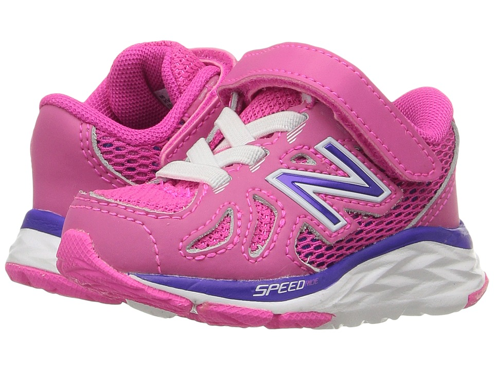 New Balance Kids - 690V5 (Infant/Toddler) (Pink/Purple) Girls Shoes