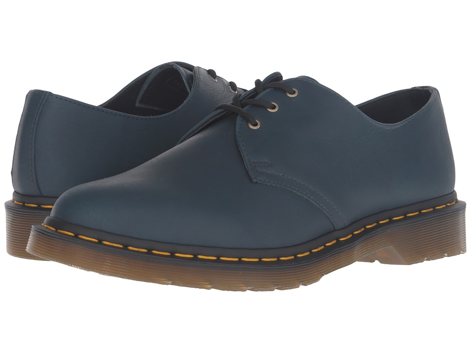 Dr. Martens 1461 3-Eye Gibson (Lake Blue Carpathian) Lace up casual Shoes