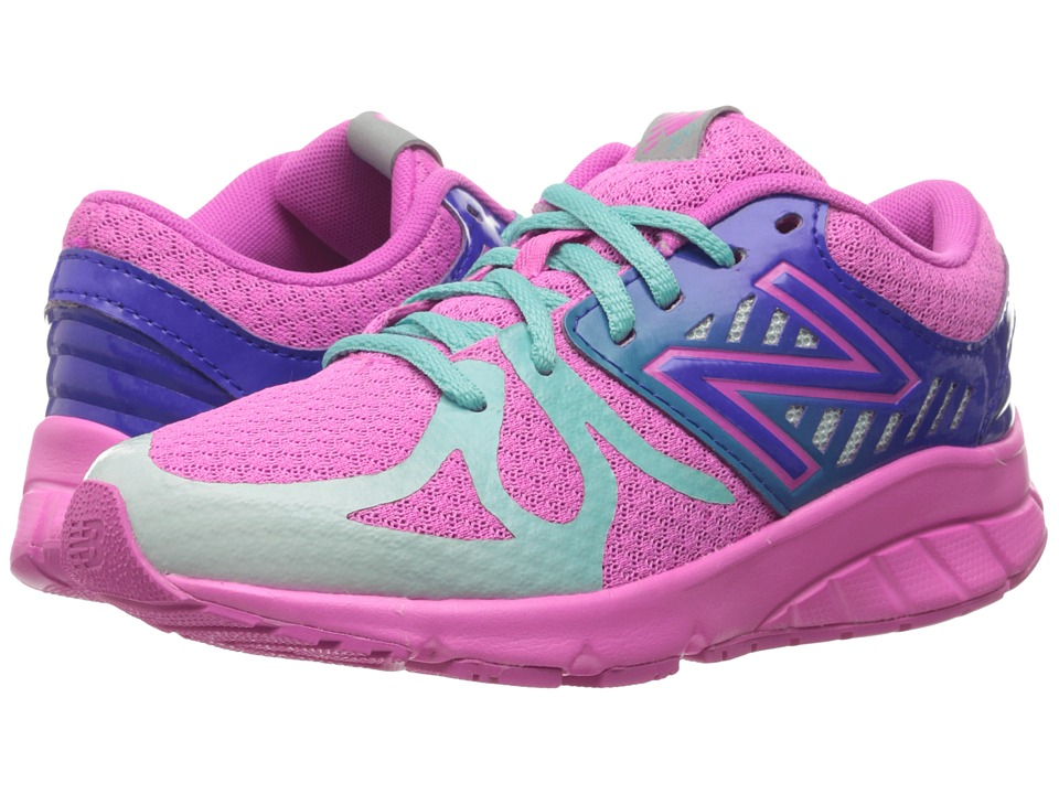 New Balance Kids - 200V1 (Big Kid) (Pink/Green) Girls Shoes