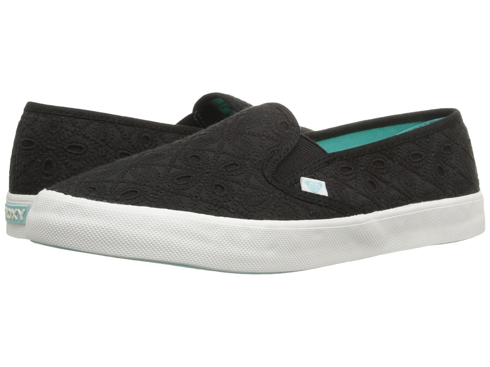Roxy - Ventura II (Black/Black/Black) Women's Shoes