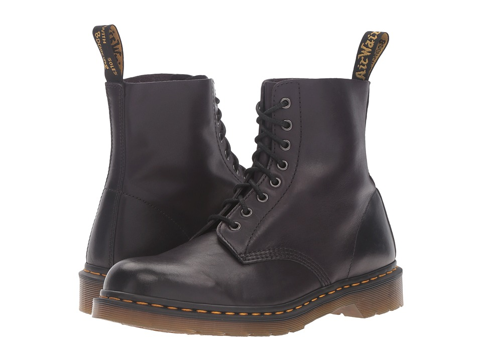 Dr. Martens - Pascal 8-Eye Boot (Gothic Purple Antique Temperley) Lace-up Boots