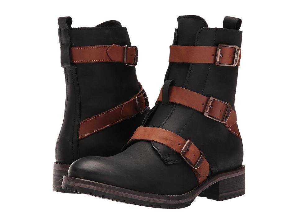 Wolverine - Lizzie (Black Leather) Women's Boots