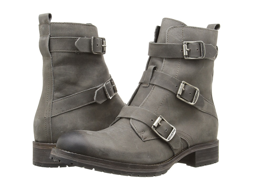 Wolverine - Lizzie (Grey Leather) Women's Boots