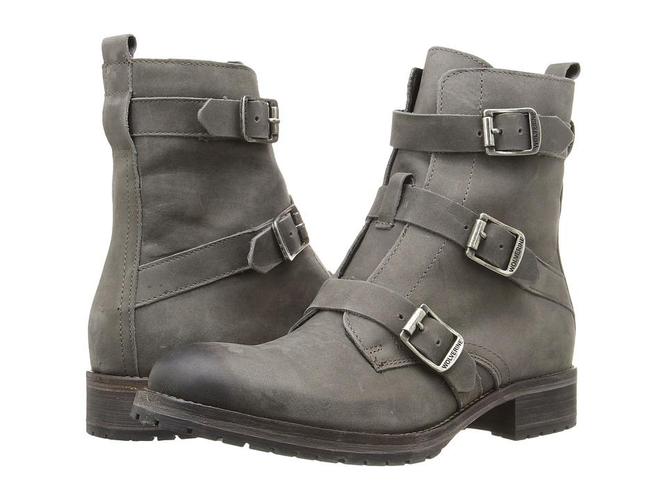 Wolverine - Lizzie (Grey Leather) Women's Boots