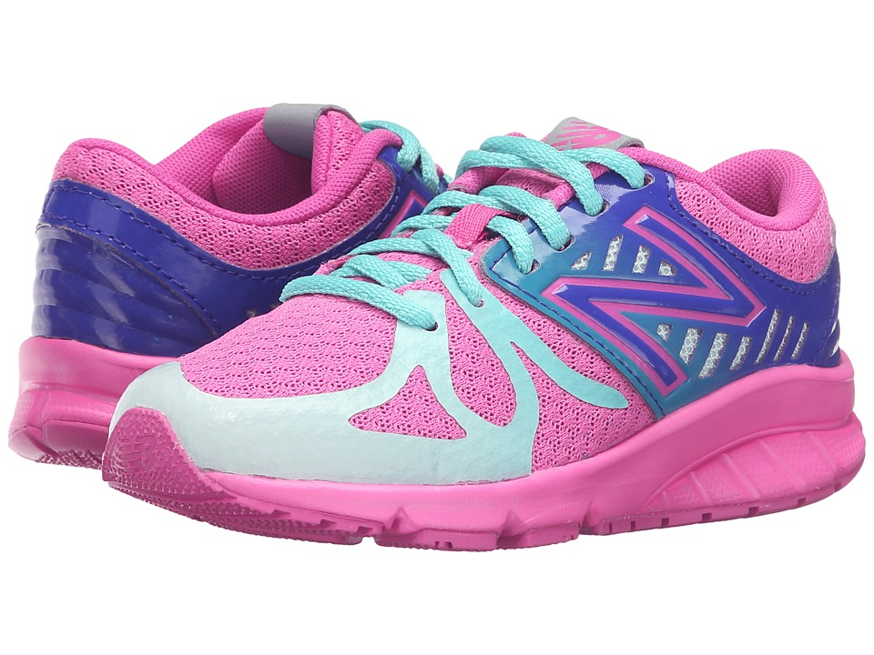New Balance Kids - 200V1 (Little Kid) (Pink/Green) Girls Shoes