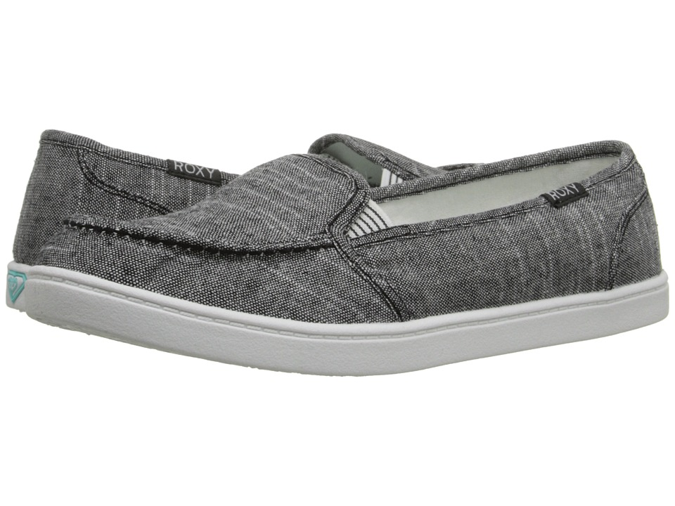 Roxy - Minnow V (Black Dark Used) Women's Shoes
