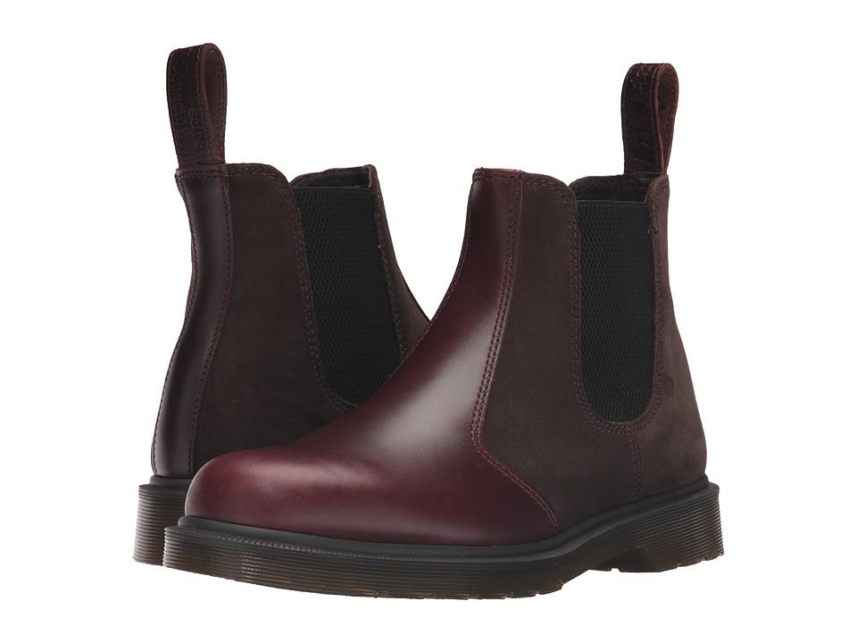 Dr. Martens - 2976 Chelsea Boot (Charro Brando/Dark Brown Hi Suede WP) Lace-up Boots